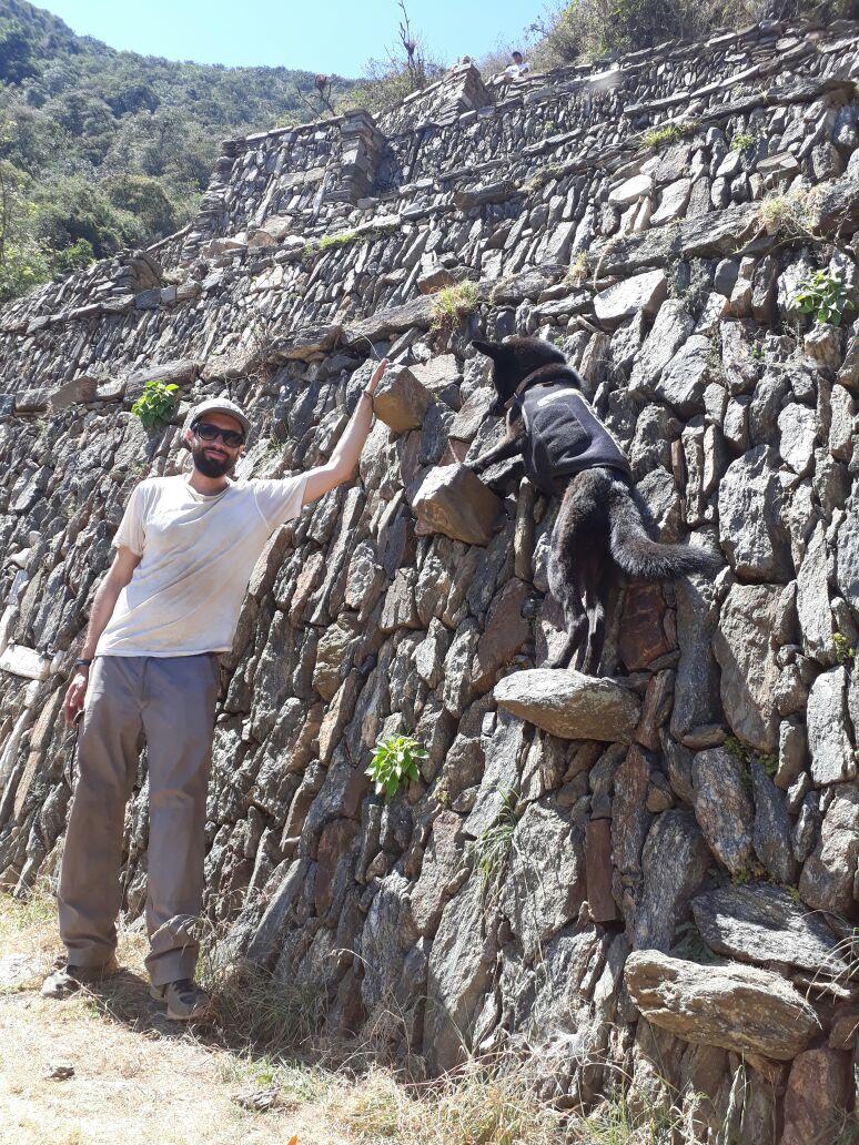hiking choquequirao